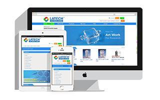 B2C和B2B外贸商城网站 - Latech Scientific Supply