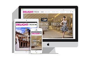 Delightdress跨境购电子商务网站