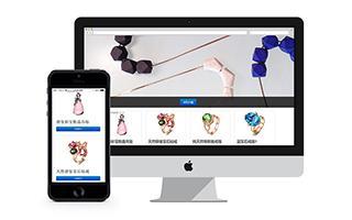 珠宝商城网站建设案例