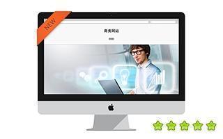 商业服务公司网站模板
