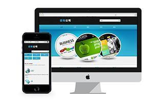 数码电脑外贸企业网站模板